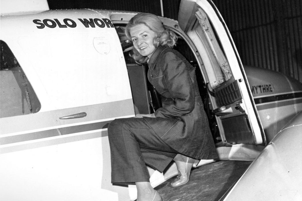 Sheila Scott, la first lady du ciel