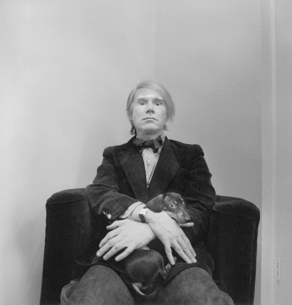 Andy Warhol et sa Cartier Tank Solo
