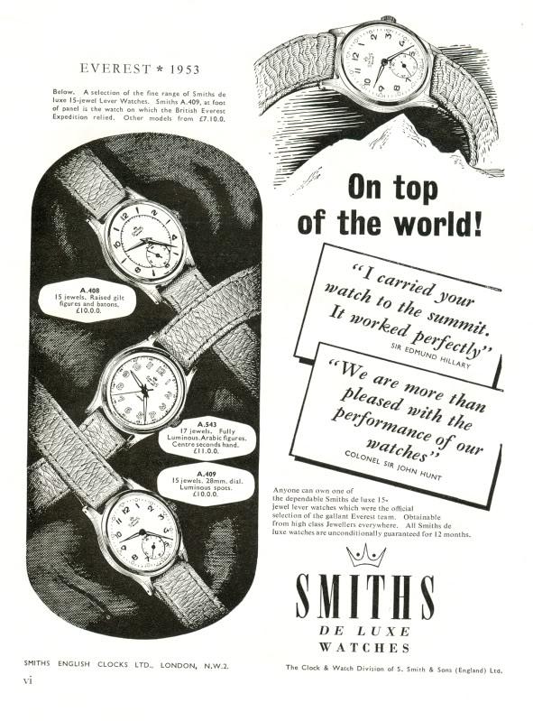 smiths-watch-ad-everest-1953