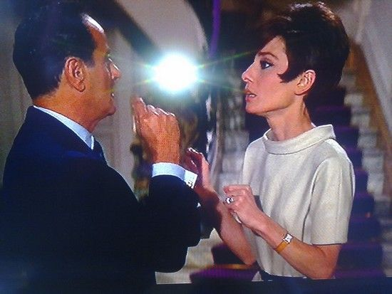 "Audrey Hepburn et sa Tank Cartier dans ""How to Steal a Million"" (1966)"