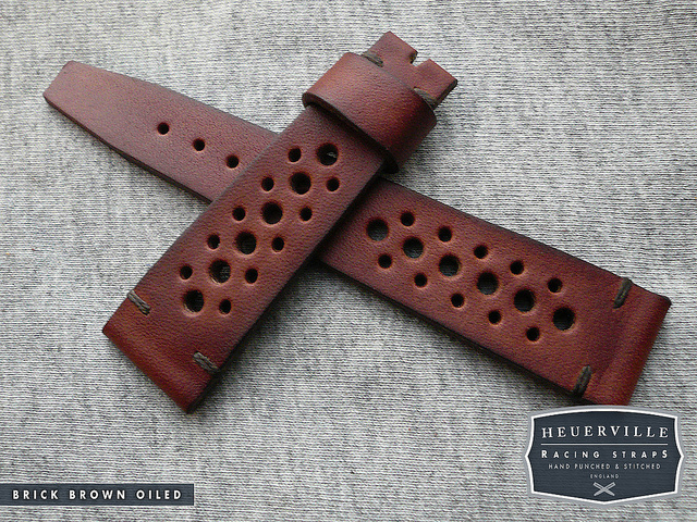 Brick Brown Oiled heuerville strap