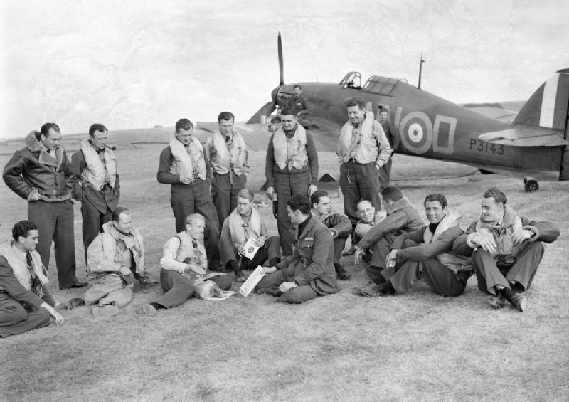 Pilots of No. 310 (Czech) Squadron