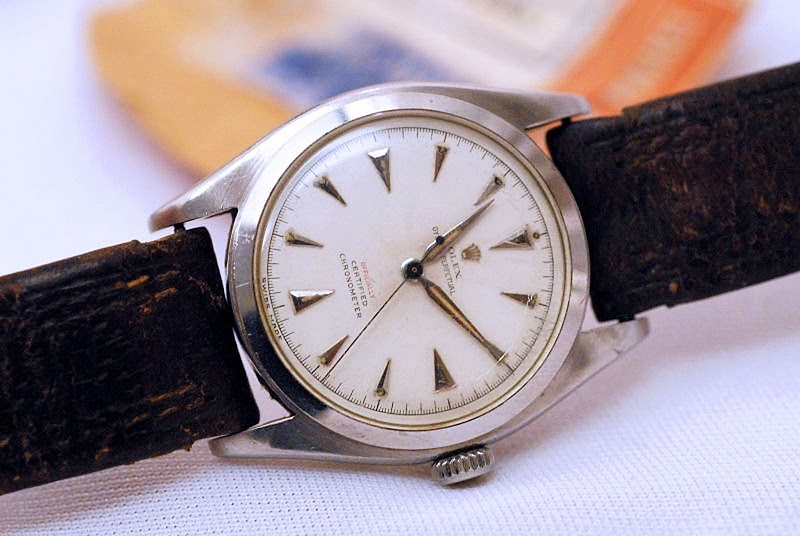 EDMUND HILLARY'S OYSTER PERPETUAL CHRONOMETER