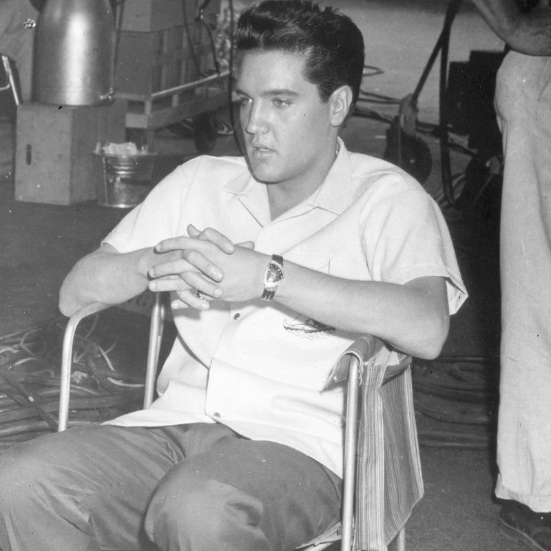 Elvis Presley et son Hamilton Ventura