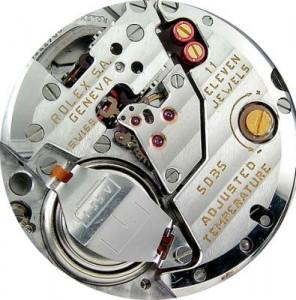 calibre Rolex 5035
