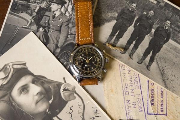 Jack Williams RAF pilote Rolex Chronograph Great escape la grande evasion
