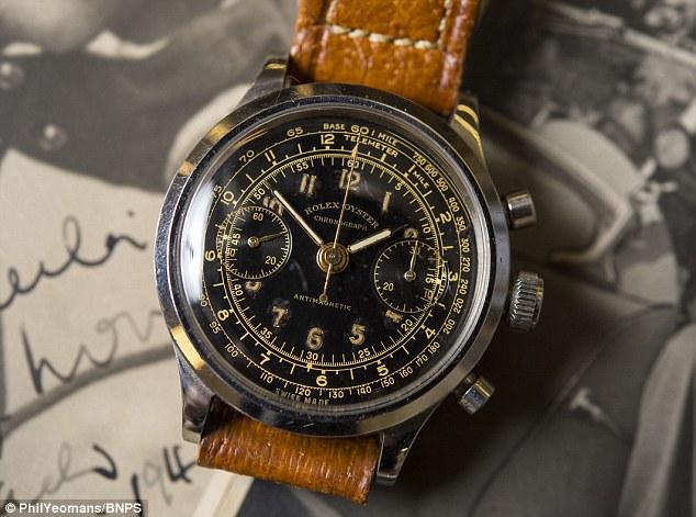 Rolex chronograph 3525 sn 186045 great escape