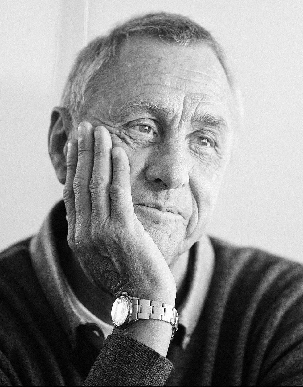 Johan Cruijff          fotograaf corne van der stelt