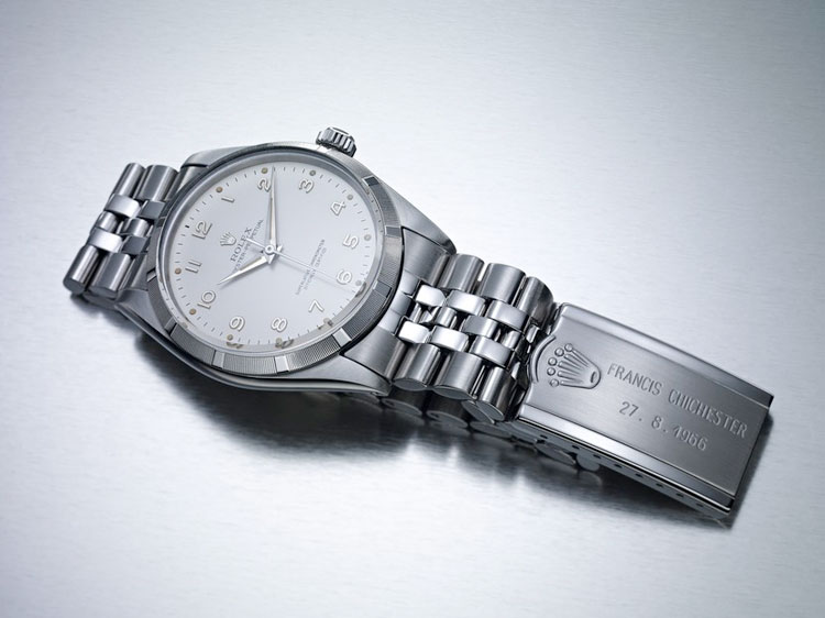 sir-francis-chichester rolex oyster perpetual