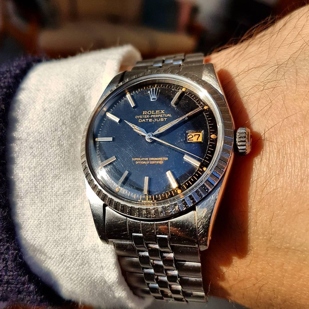 "Rolex Datejust 1601 ""Gilt"" . Photo tbwtaches"