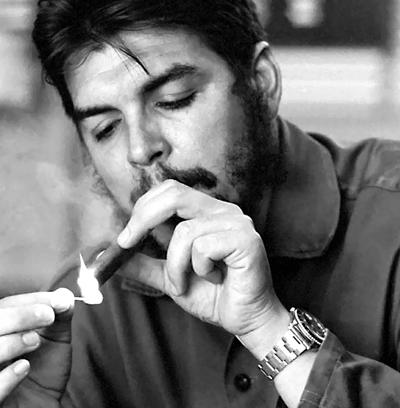 """Ernesto """"Che"""" Guevara et sa Rolex Espresso GMT Master 1675"""