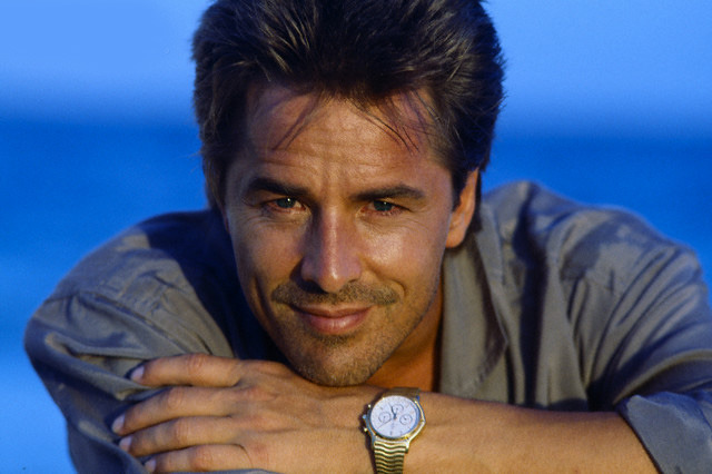 American actor Don Johnson
