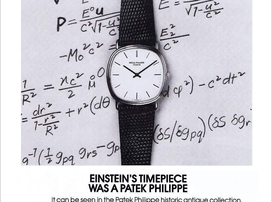 1980 Einstein-Patek-Philippe