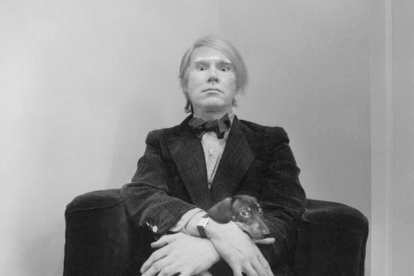 Andy Warhol et sa Cartier Tank Solo