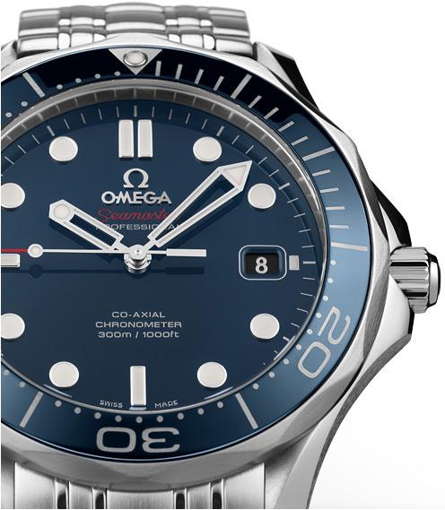 """Omega Seamaster 300m avec aiguilles """"squelettes"""""""