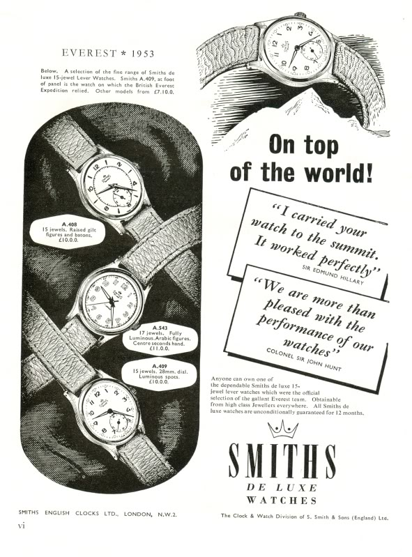 smiths-watch-ad-everest-1953