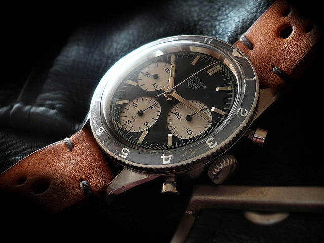 Heuer Autavia 2446 H Jochen Rindt