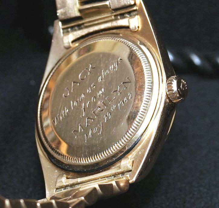 marilyn-kennedy-engraved-rolex-day-date-president