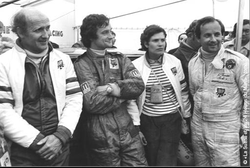 Laurent Ferrier (à droite) aux 24h du Mans