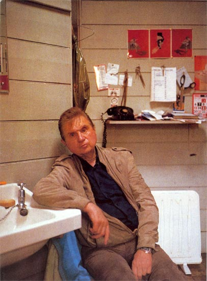 Francis Bacon en 1984 par John Edwards