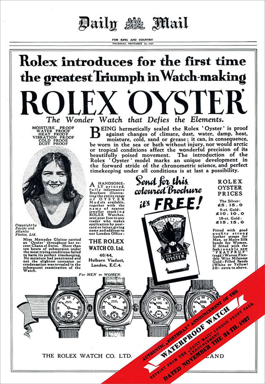 Rolex-Oyster-Advertorial-in-Daily-mail