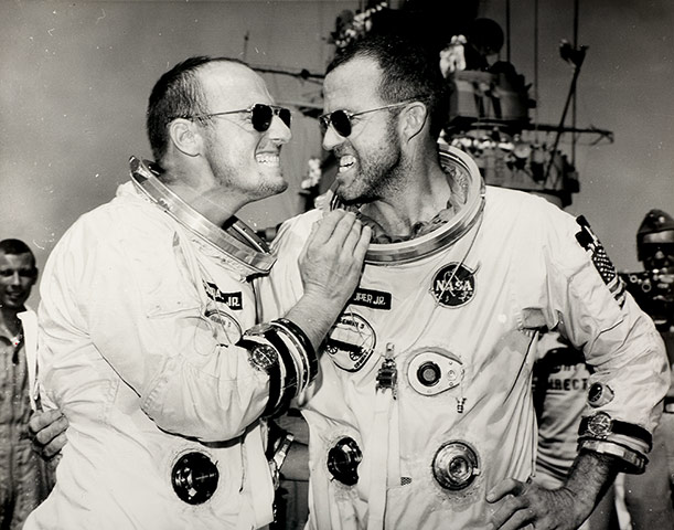 "Gordon Cooper and Charles ""Pete"" Conrad"