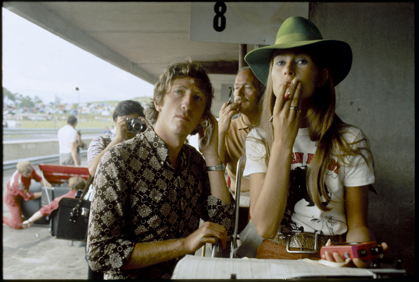 Nina and Jochen RIndt at the Austrian Grand Prix