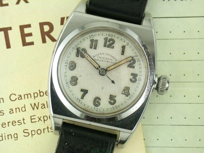 Rolex Oyster Imperial des années 30