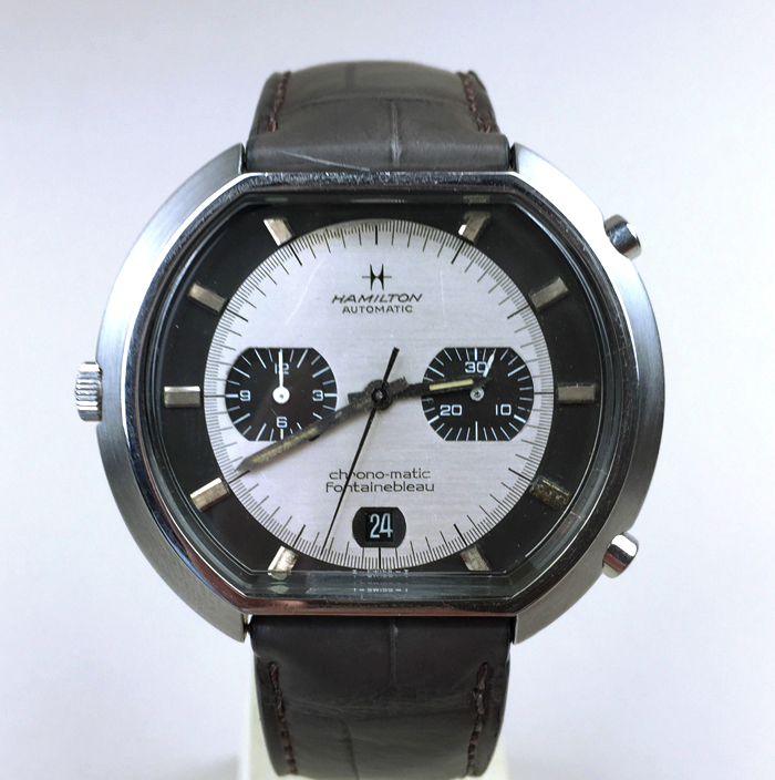 Hamilton Chrono-matic Fontainebleau (photo ebay.com)