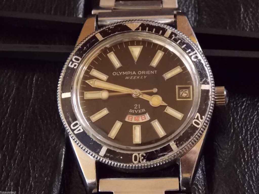 Orient Olympia Weekly 21  photo : ebay