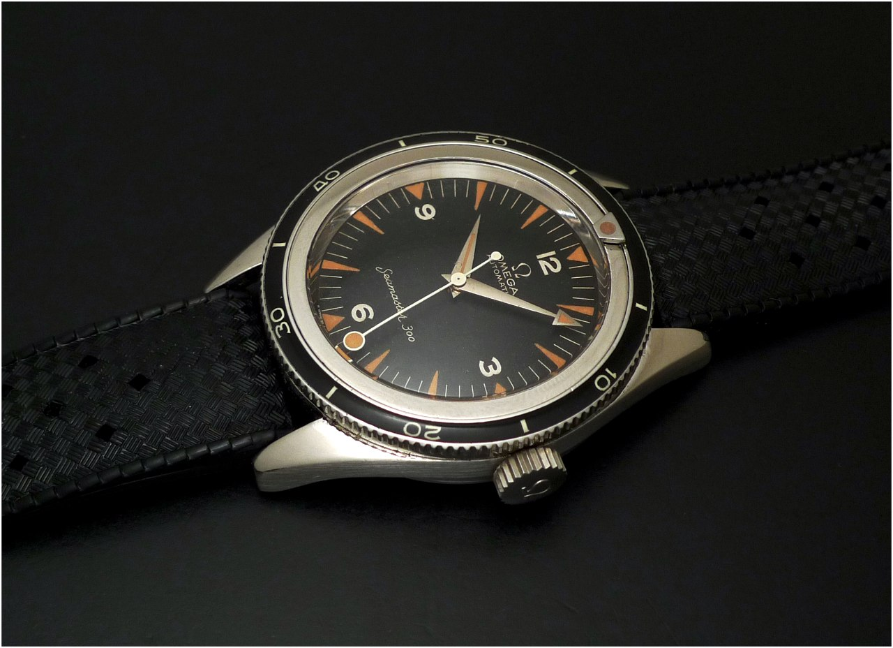 Omega Seamaster 300 CK 2913 - 7 de 1957 (photo watchprosite)