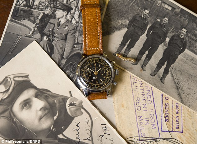 Jack Williams RAF pilote Rolex Chronograph Great escape la grande evasion