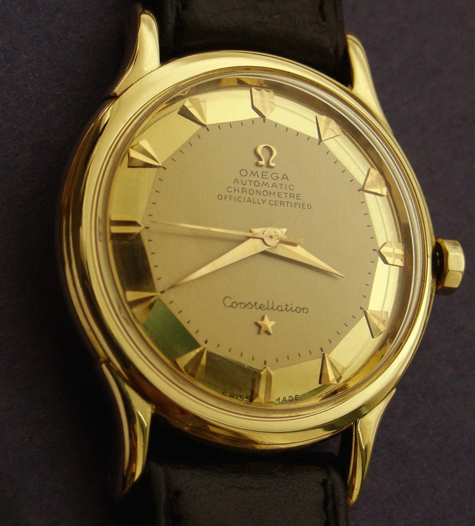 omega constellation 2699 pan pie