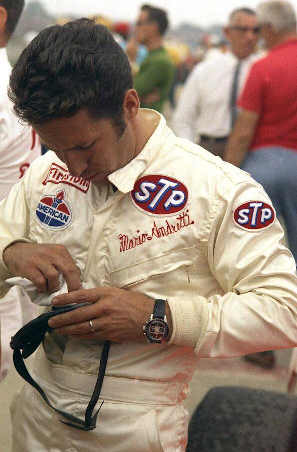 Mario Andretti et sa Yema Rallygraf