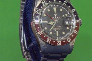 Un vieil homme très ému lorsqu'il découvre la valeur de sa Rolex (GMT master réf.6542 de 1960)