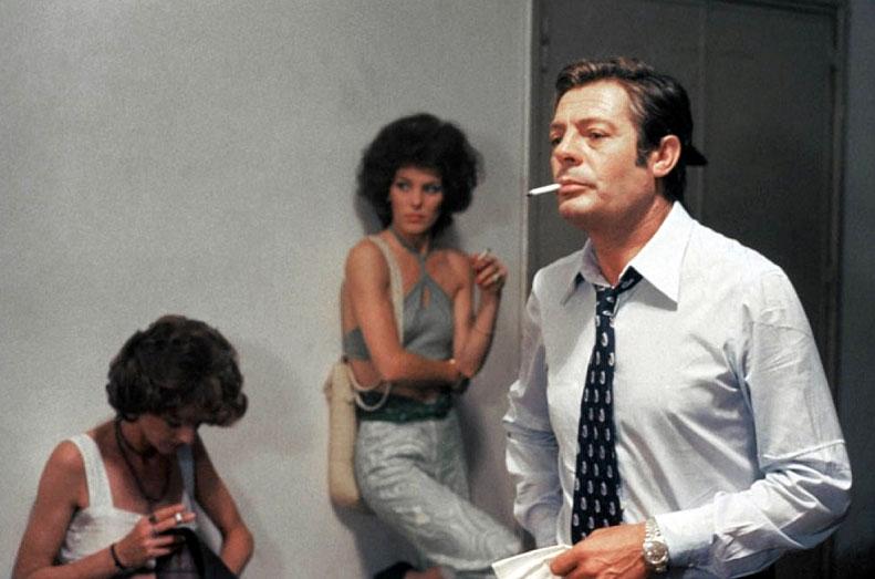 Marcello Mastroianni porte une Datejust dans Femme du dimanche (La Donna della domenica) (1975)