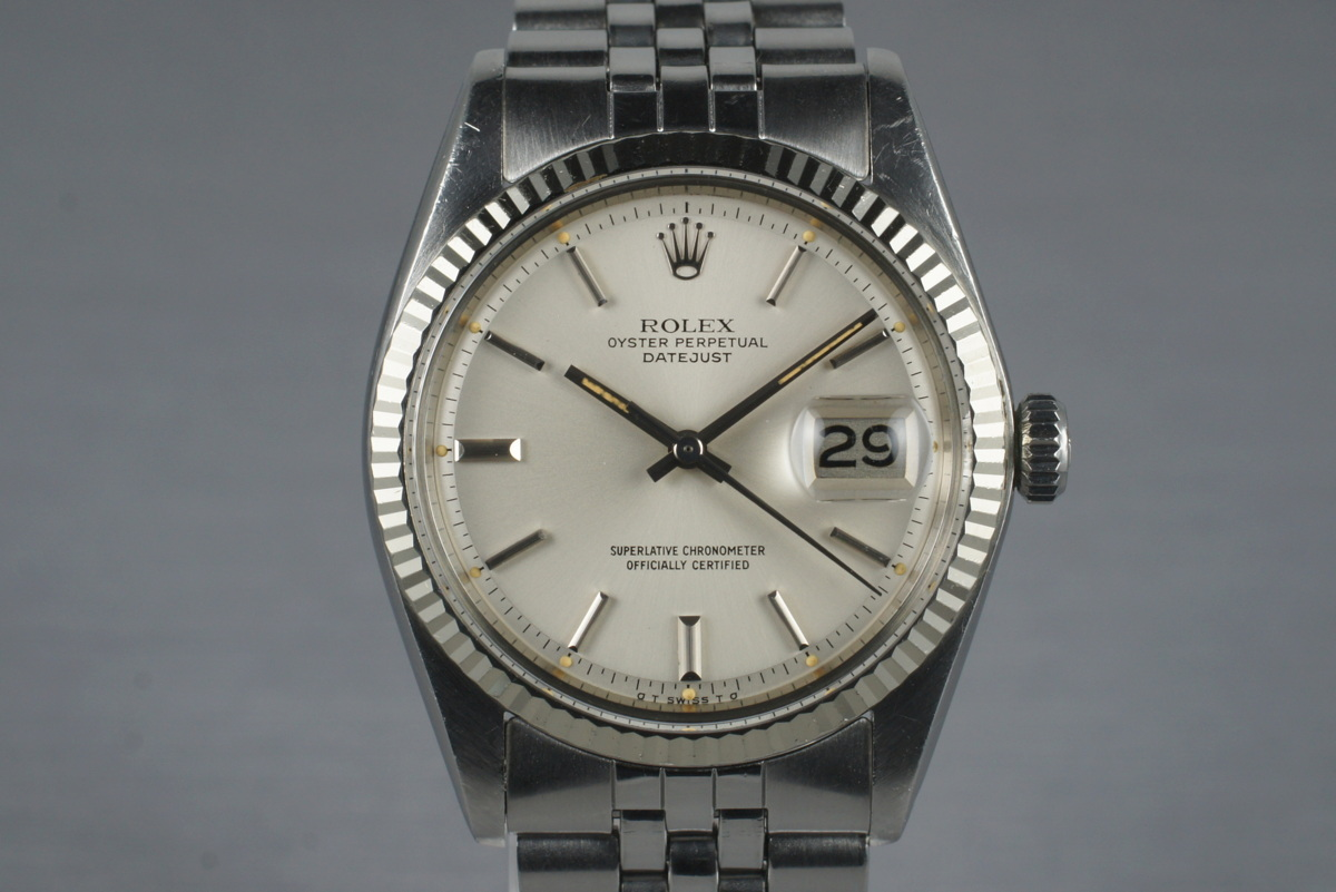 "Datejust 1601 ""Sigma Dial"" de 1973 : Photo : Jacek@VRF"