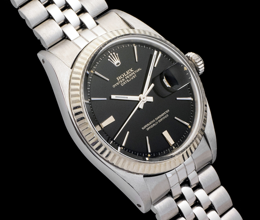 "Datejust 1601 ""Gilt"" et ""Door stop"" de 1964 : photo : lucamusumeci.com/"