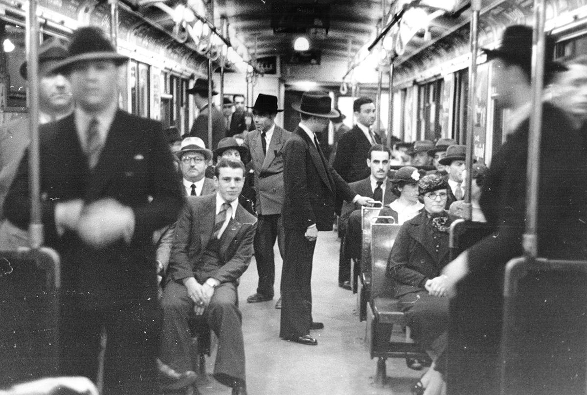 Le métro de Buenos Aires dans les années 40. Photo wikiwand.com