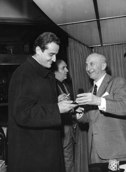 Luis Ricciardi et Victorio Gassman