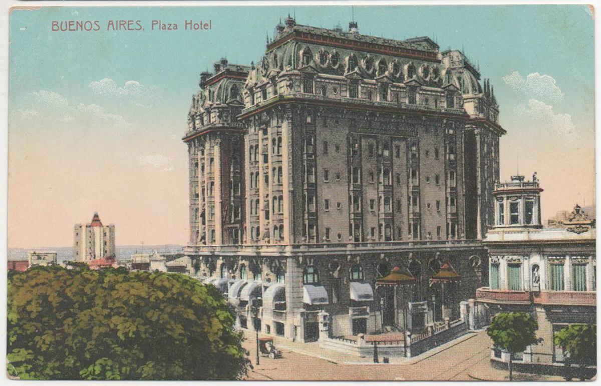 Le Plaza Hotel de Buenos Aires dans lequel se trouvait l'une des boutiques des Ricciardi