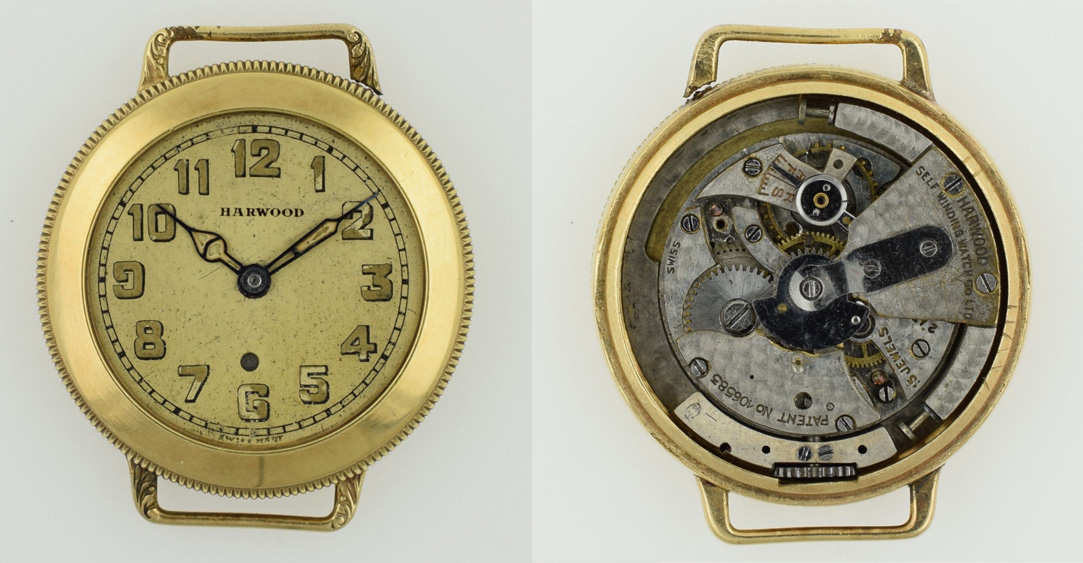 Montre automatique Harwood à