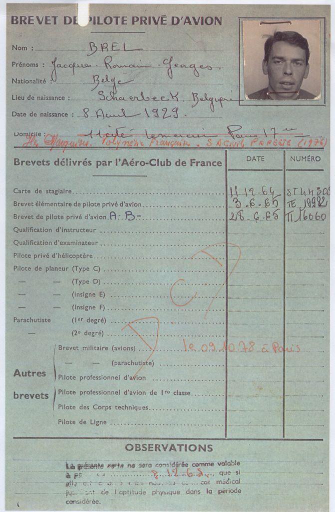 brevet-de-pilote-jacques-brel
